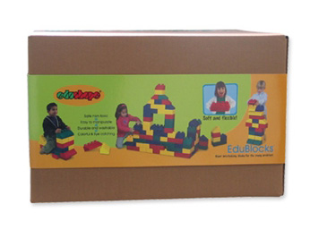 Edushape® EduBlocks: 50 Pieces, Boxed