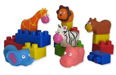 Edushape® Mini EduAnimals: 28 Pieces, Bagged