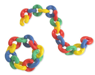 Edushape® EZ Grip-C Links: 36 Pieces