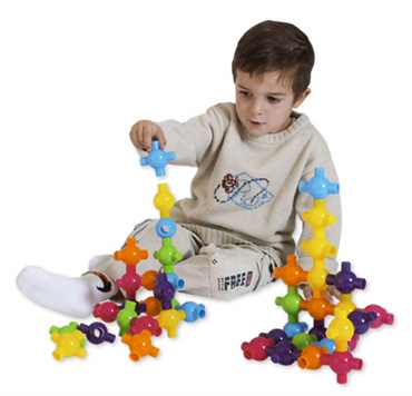 Edushape® Kiddy connects: 72 Pieces