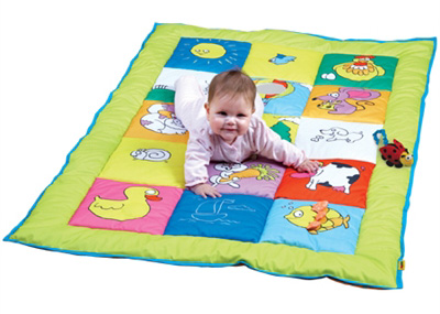 Edushape® Double Sided Baby Mat