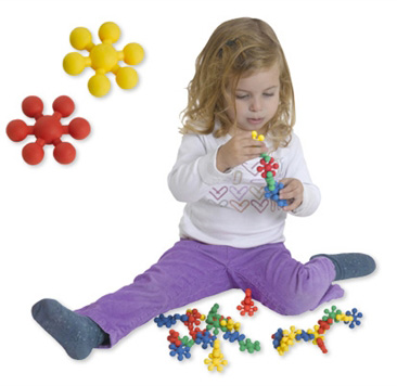 Edushape® Ez-Grip Tiny Stars: 80 Pieces
