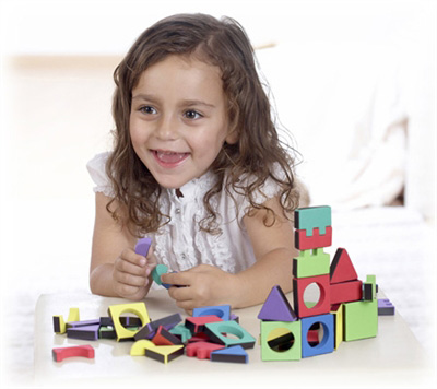 Edushape® Magic Shapes: 81 Pieces, Jar