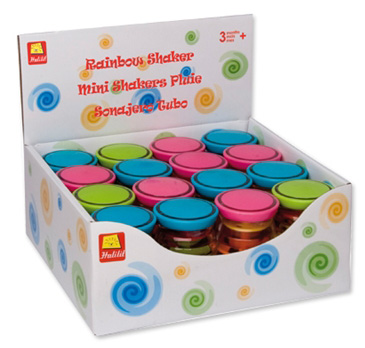 Edushape® Mini Rainboshaker Display: 16 Pieces