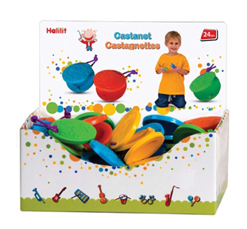 Edushape® Castanets Display: 36 Pieces