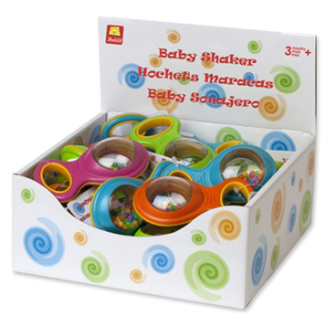 Edushape® Baby Beads & Bell Shakers: 24 Pieces
