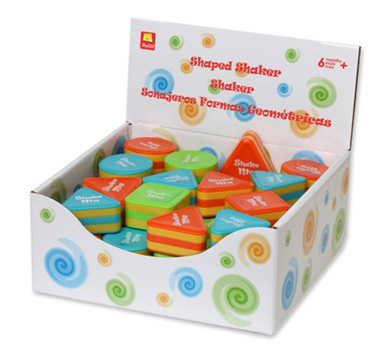 Edushape® Shape Shakers Display: 48 Pieces