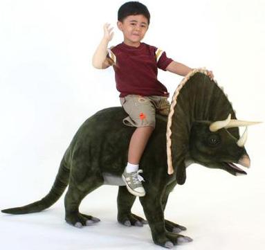 Hansa 174 Toys Ride On Tricerotops 4 L