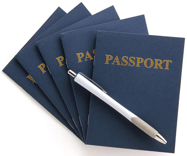 Hygloss Passport Books: Blank Pages, 12 Books
