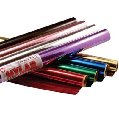 Hygloss Mylar Rolls: Red
