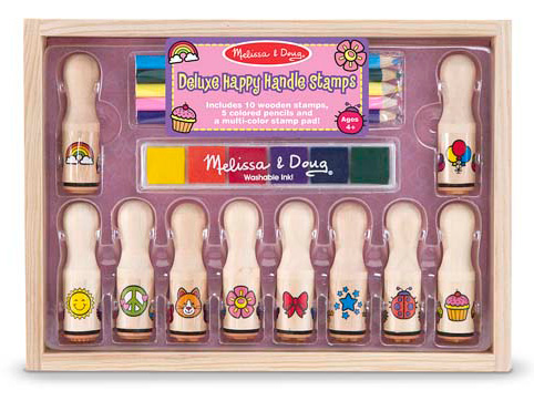 Deluxe Happy Handle Stamp Set: 4+ Years