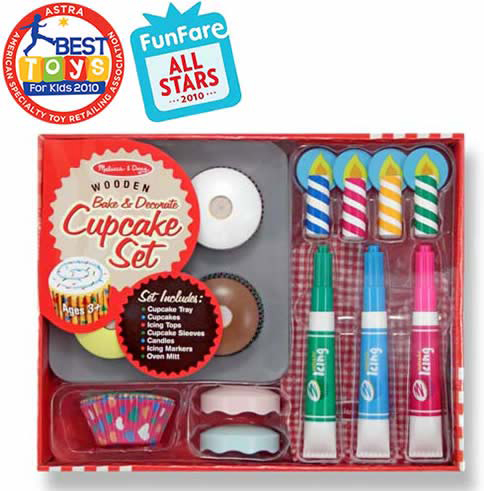 Bake & Decorate Cupcake Set: 3+ Years