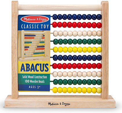 Abacus Classic Wooden Toy: 3+ Years