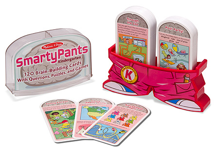 Smarty Pants - Kindergarten Card Set: 5+ Years