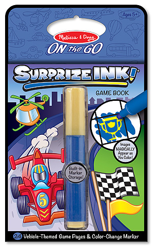 Surprize Ink! Vehicles - On the Go Travel Activity: 5+ Years