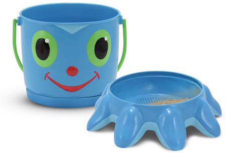 Flex Octopus Sand Pail & Sifter: 3+ Years