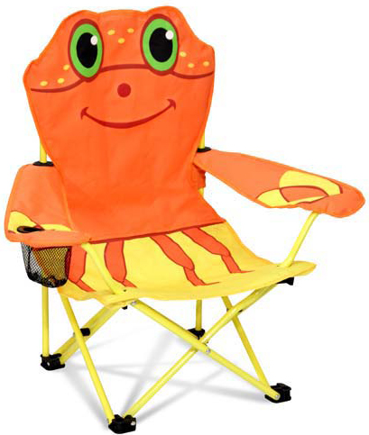 Clicker Crab Child's Outdoor Chair: 8+ Years
