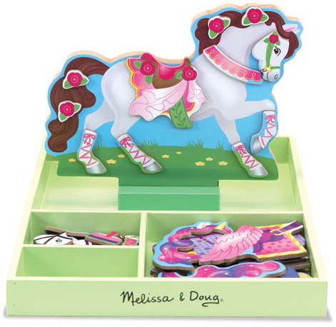 My Horse Clover Magnetic Dress-Up Set: 3+ Years