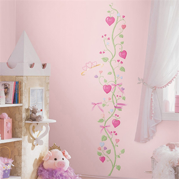 RoomMates Little Princess Growth Chart Wall Decals