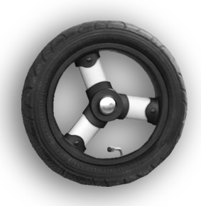 Stroll-Air My Duo: Set of 4 Air Tires