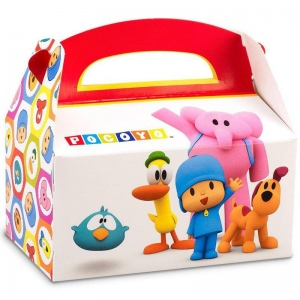 Pocoyo Empty Favor Boxes (4): Birthday