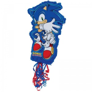 Birthday Express Sonic the Hedgehog Pull-String Pinata