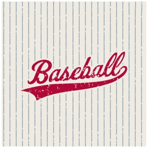 Baseball Time Lunch Napkins (20): Multi-colored, Birthday