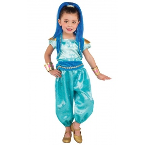 Rubie's Costumes Shimmer & Shine: Shine Deluxe Child Costume Small
