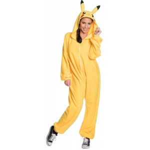 Rubie's Costumes Pokemon: Pikachu Jumpsuit Adult Costume Small