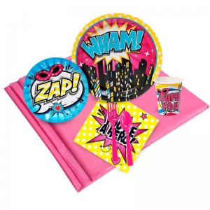 Birthday Express Superhero Girl Party Pack