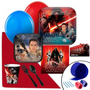 Birthday Express Star Wars 7 The Force Awakens Value Party Pack