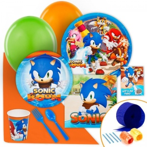 Birthday Express Sonic Boom Value Party Pack