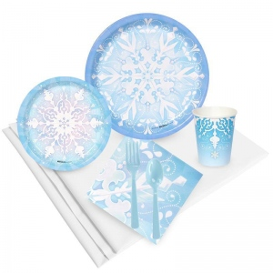 Birthday Express Snowflake Winter Wonderland Party Pack