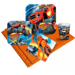 BuySeasons Blaze and the Monster Machines Party Pack