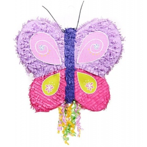 BuySeasons Butterfly Party Pinata