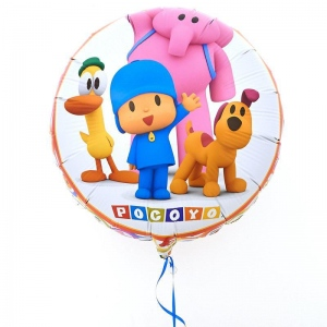 CTI Industries Corporation Pocoyo Happy Birthday Foil Balloon