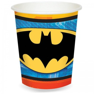 Amscan Batman 9 oz. Paper Cups