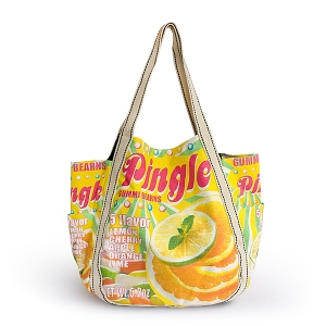 Blancho  100% Cotton Eco Canvas Shoulder Tote Bag  - Pingle