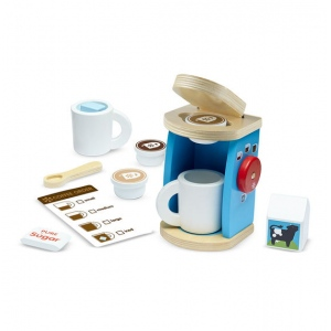Wooden Brew & Serve Coffee Set