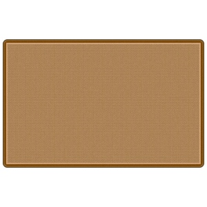 "Flagship Carpets All Over Weave Tan: 7' 6"" X 12'"