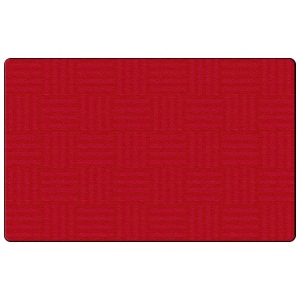 Flagship Carpets Hashtag Tone On Tone Cherry (Seats 24): 6X8'4