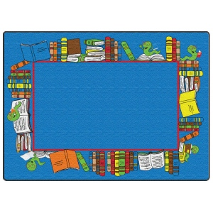 Flagship Carpets Book Worm Border: 7'6X12