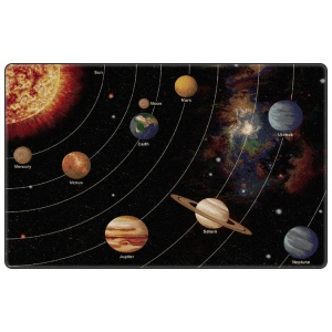 "Flagship Carpets Solar System Orbit (Tranquility): 10'9"" x 13'2"""