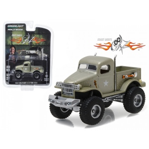 "1941 Military 1/2 Ton 4x4 Pick Up Truck ""Sgt. Rock""  Stacey David's Geraz (2010-Current) TV Series 1/64 Diecast Model Car by Greenlight"