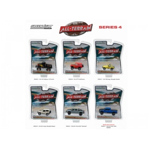 All Terrain Series 4, 6pc Set 1/64 Diecast Model Cars by Greenlight