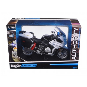 BMW R 1200 RT California Highway Patrol (CHP) Police Motorcycle Model 1/18 by Maisto