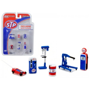 Greenlight Muscle 6pc Set Shop Tools STP 1/64 by Greenlight