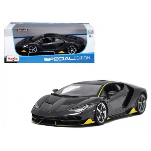 Lamborghini Centenario Grey 1/18 Diecast Model Car by Maisto