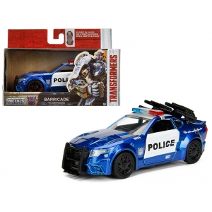 "Barricade Custom Police Car From ""Transformers 5"" Movie 1/32 Diecast Model Car  by Jada"
