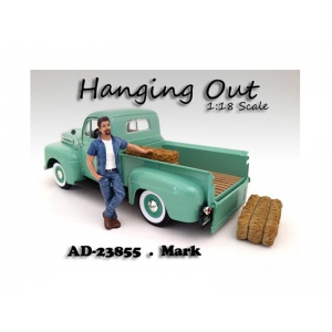 """Hanging Out"" Mark Figure For 1:18 Scale Models by American Diorama"